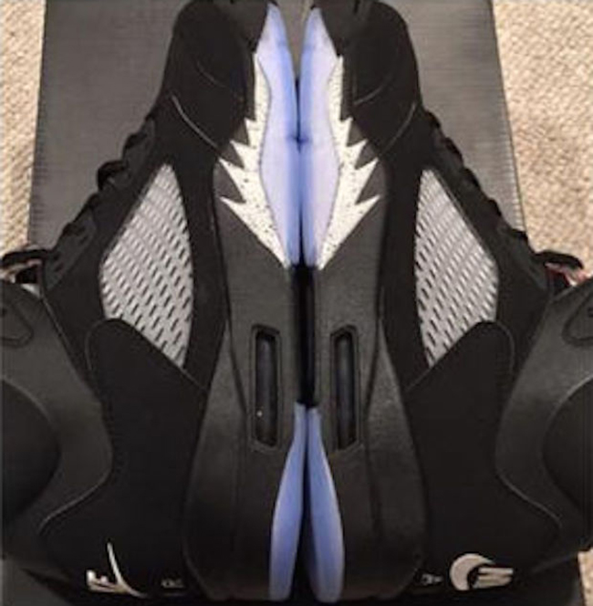 Nike Jordan 5 Black Metallic 2016