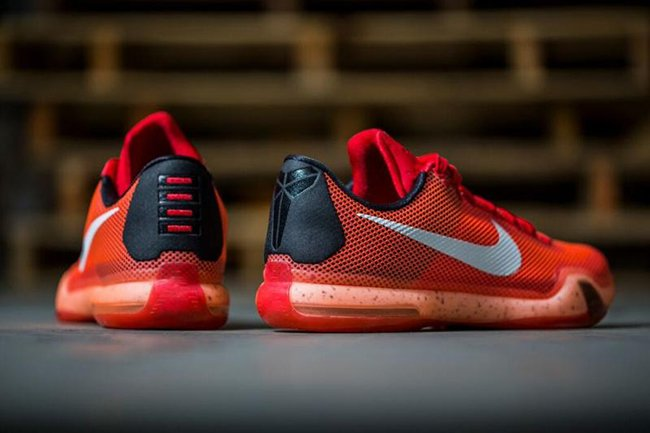 Nike Kobe 10 Red Crimson Lava