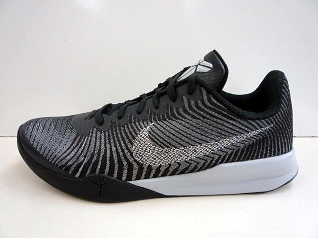 lowest price cf2f2 44b1e Nike Kobe Mentality II Black Silver