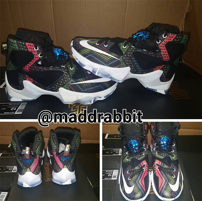 new arrival ace25 0fadc Nike LeBron 13 BHM Black History Month | SneakerFiles