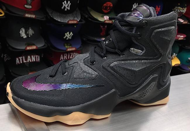 Nike LeBron 13 Black Gum Anthracite