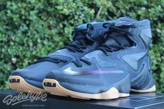Nike LeBron 13 Black Lion