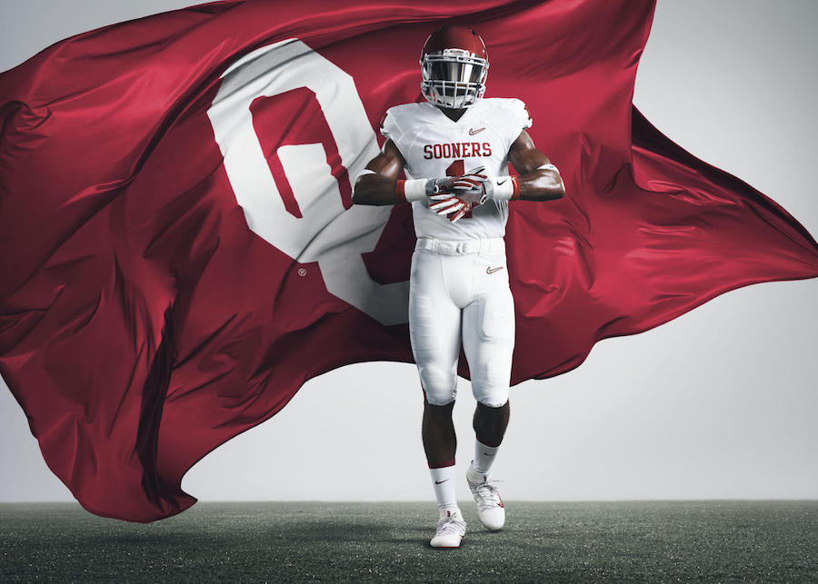 Nike Oklahoma Sooners Playoff 2015 Uniforms