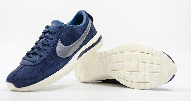 ... wholesale nike roshe cortez nm premium suede midnight navy 71b96 a74e6 849bd73f0