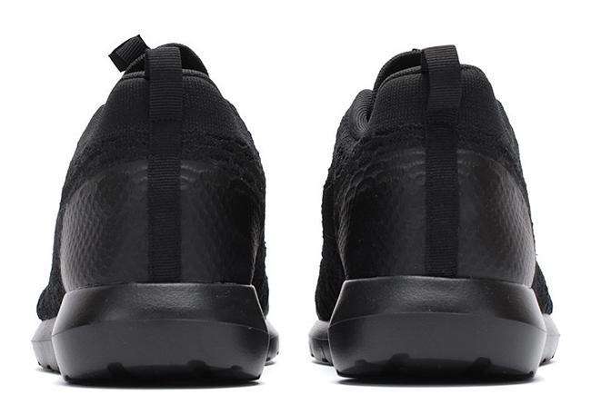 Nike Flyknit Roshe Kjøre Trippel Svart Buyler shmjDaNQS