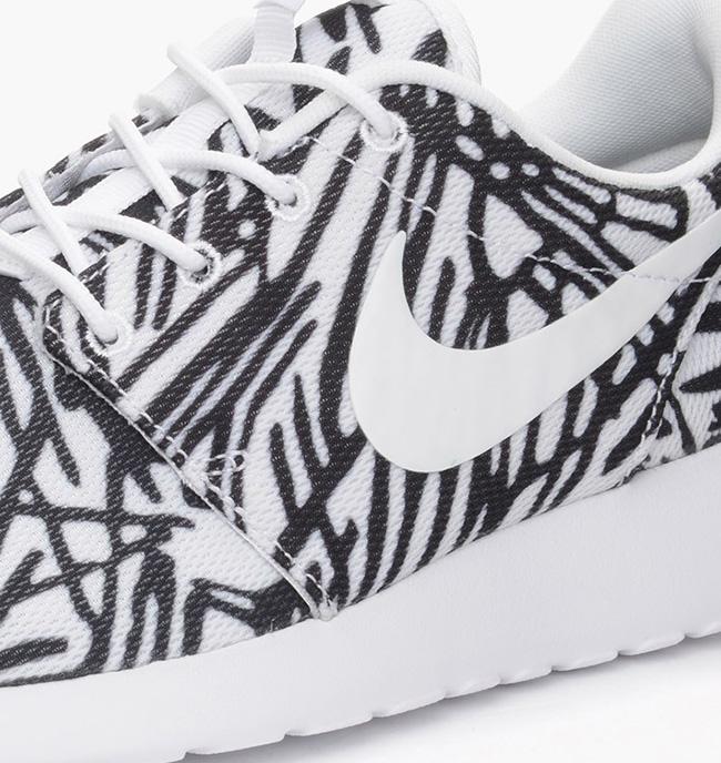 Nike Roshe One Print White Black