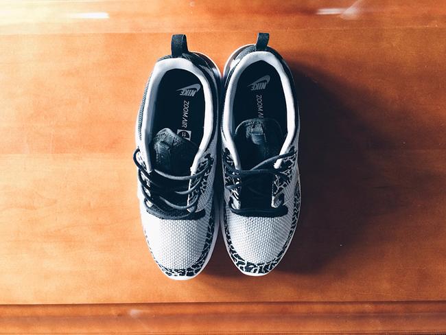 Nike Roshe Run Wolf Grey Jordan 3 Custom