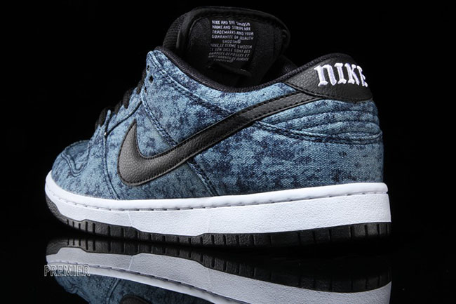 Nike SB Dunk Low Bleached Denim