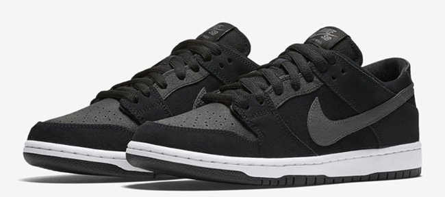 Nike SB Dunk Low Ishod Wair Black Graphite White  d9e6f80ab1