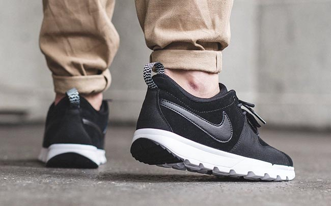 new product dc8f6 7eed3 Nike SB Trainerendor Leather Black White durable modeling