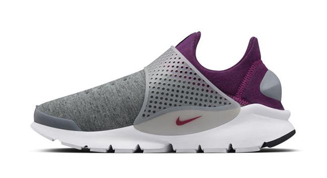 Nike Sock Dart Tech Fleece Grey Purple
