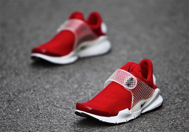 Sock Dart sneakers - Red Nike GFZ6v