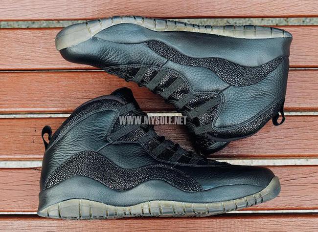 OVO Black Air Jordan 10 Release