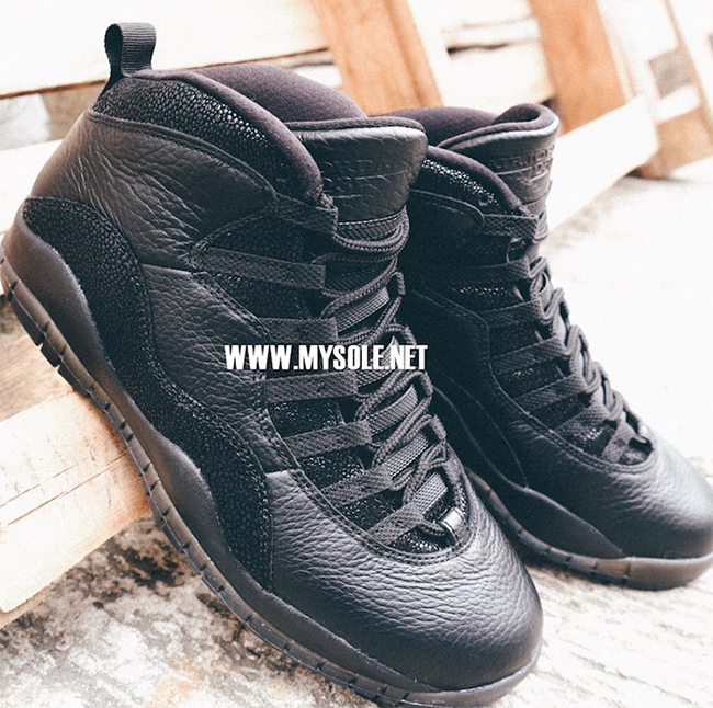 OVO Black Air Jordan 10 Release