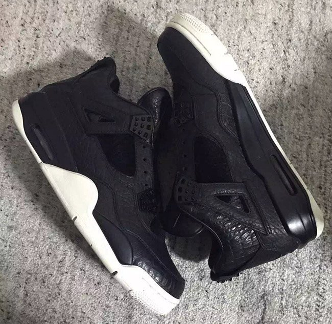 Pinnacle Air Jordan 4 Black
