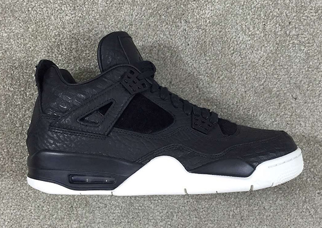 Pinnacle Air Jordan 4 Black White