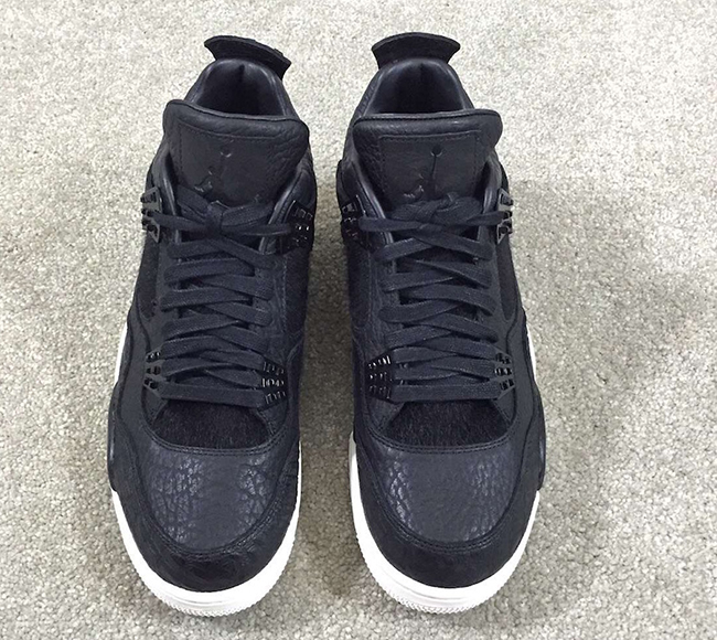 Pinnacle Air Jordan 4 Black White