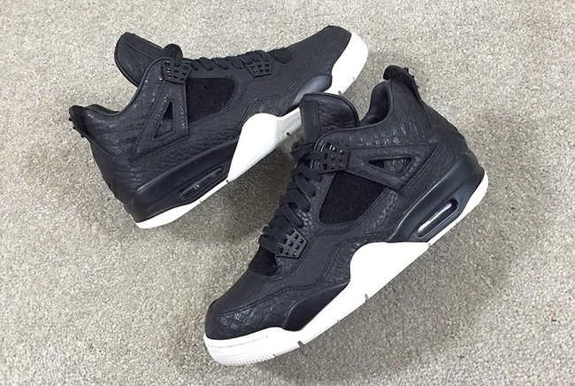 1de80b179f0eaf Air Jordan 4 Pinnacle Black Pony Hair