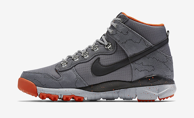Poler Nike Dunk High OMS Dark Grey
