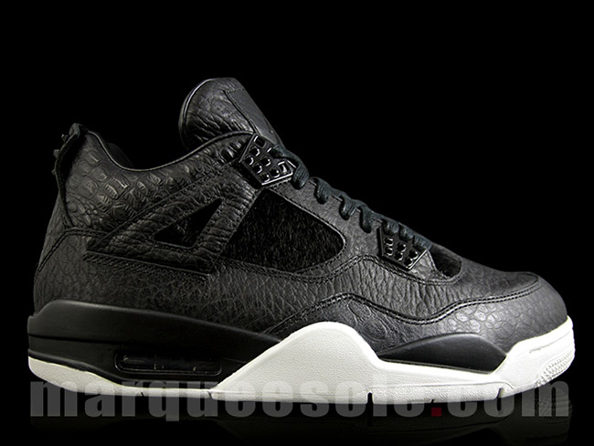 Premium Air Jordan 4 Retro Black