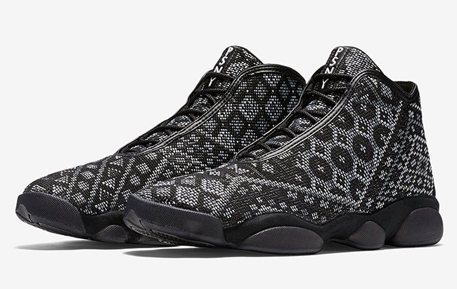 Air Jordan Horizon PRM PSNY Black White Pure Platinum Anthracite