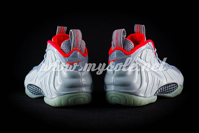 Pure Platinum Nike Air Foamposite Pro Yeezy