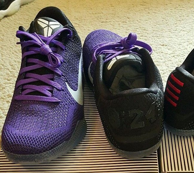 Purple Nike Kobe 11