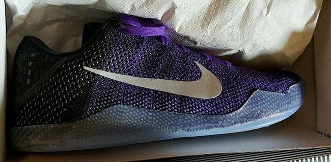 reputable site 7affb 29e1d Purple Nike Kobe 11