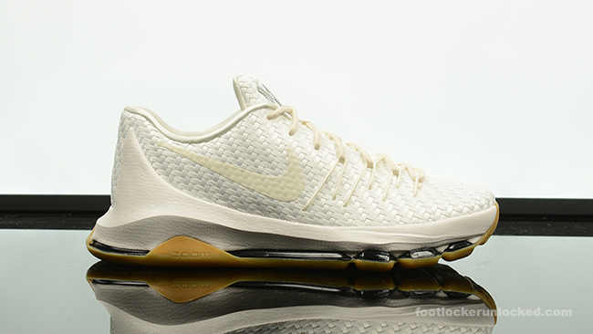 new product 6662a 9c42b Release Nike KD 8 White Woven