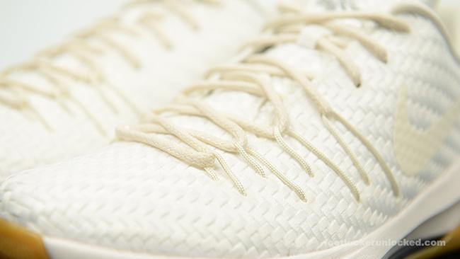Release Nike KD 8 White Woven