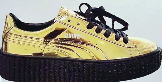 puma creeper yellow
