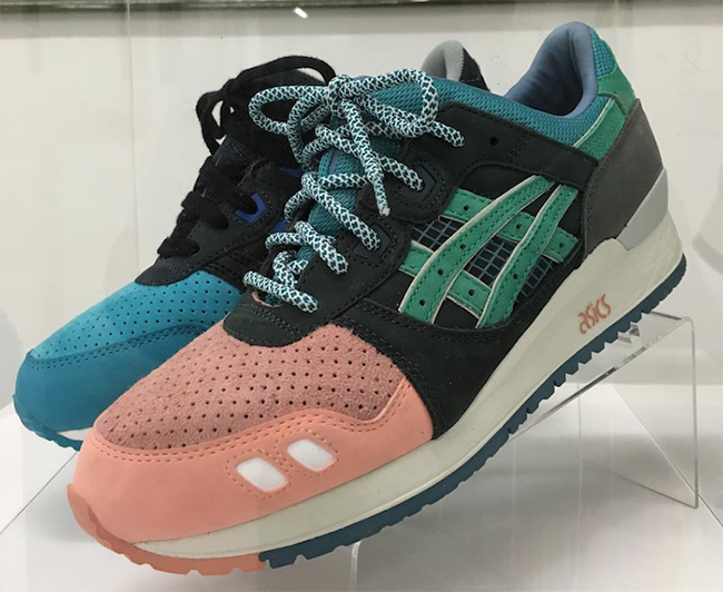 Ronnie Fieg Asics Gel Lyte III What The