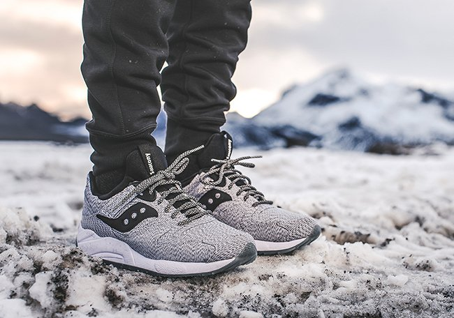 Saucony Grid 9000 Dirty Snow