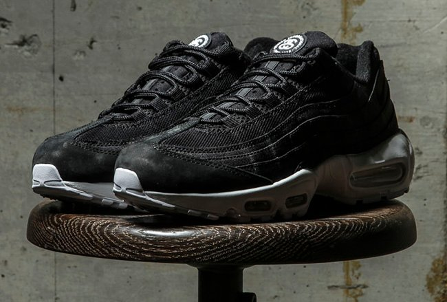 innovative design ab1d6 ab6fb Stussy Nike Air Max 95 Release
