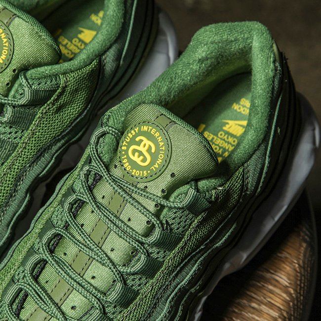 Stussy Nike Air Max 95 Release