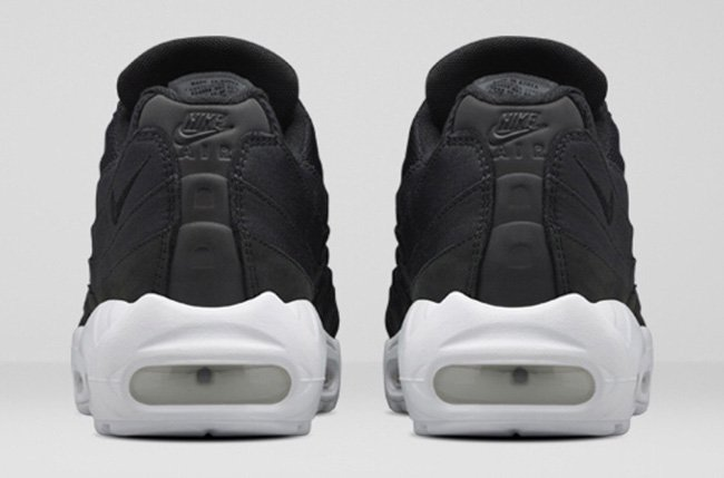 Stussy Nike Air Max 95 Black White