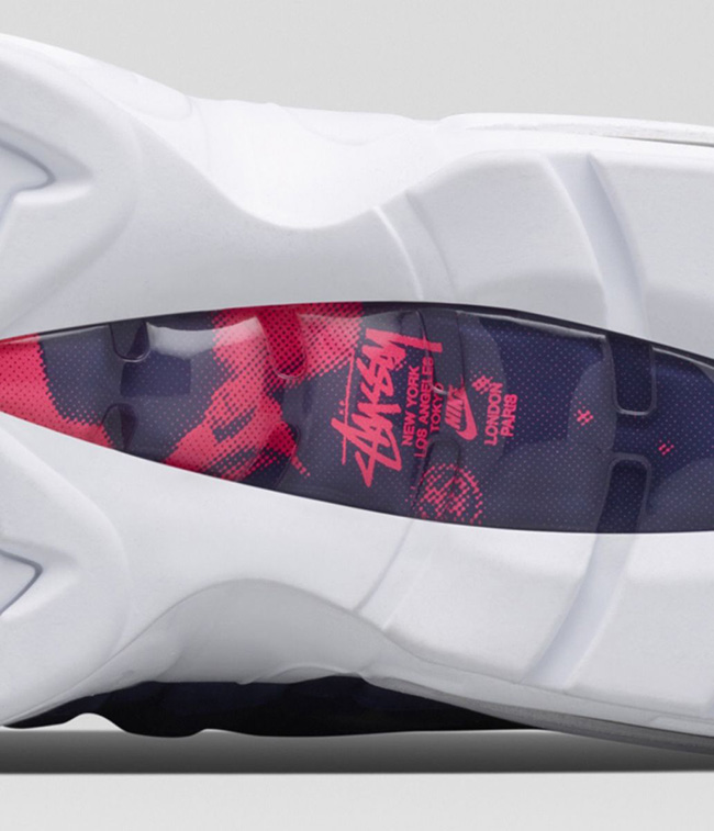 Stussy Nike Air Max 95 Blue White