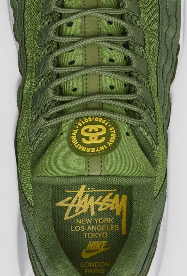 Stussy Nike Air Max 95 Green White