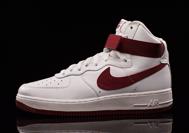 Nike Air Force 1 High OG White Red | SneakerFiles