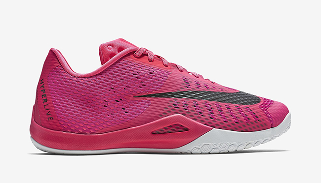 Think Pink Nike Hyperlive
