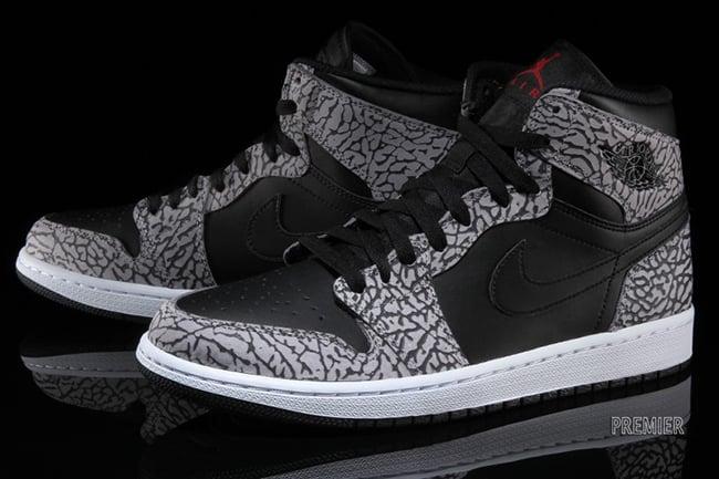 Air Jordan 1 Black Grey Red