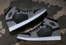 Un-Supreme Air Jordan 1 Elephant