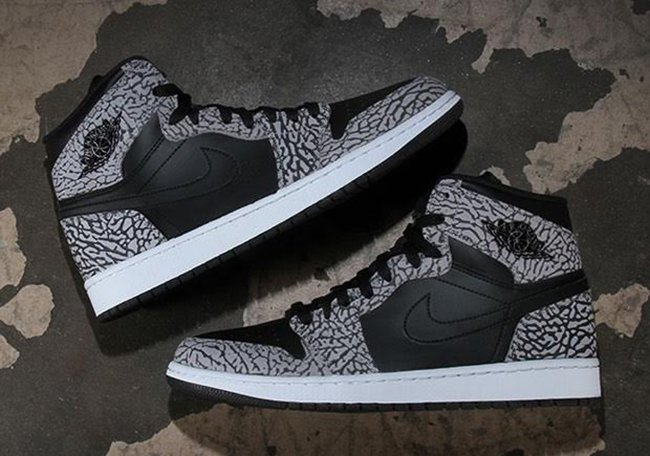 low priced fd7e1 1c98e Un-Supreme Air Jordan 1 Elephant