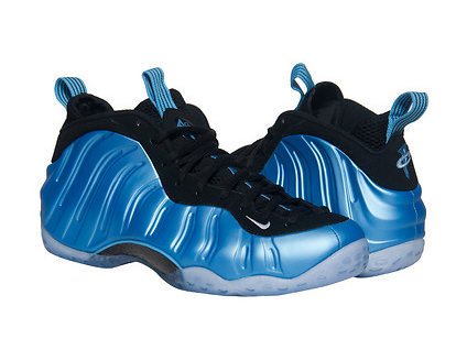University Blue Nike Foamposite 2016