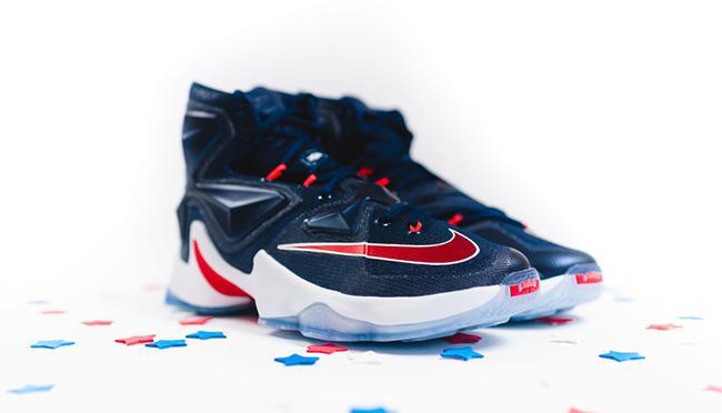 USA Navy Nike LeBron 13