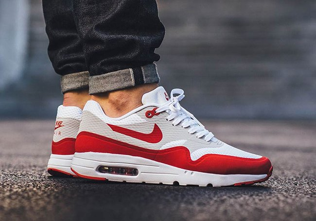 nike air max 1 ultra red