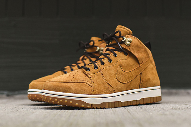 low priced 25d72 be03e Wheat Nike Dunk CMFT Sneakerboot