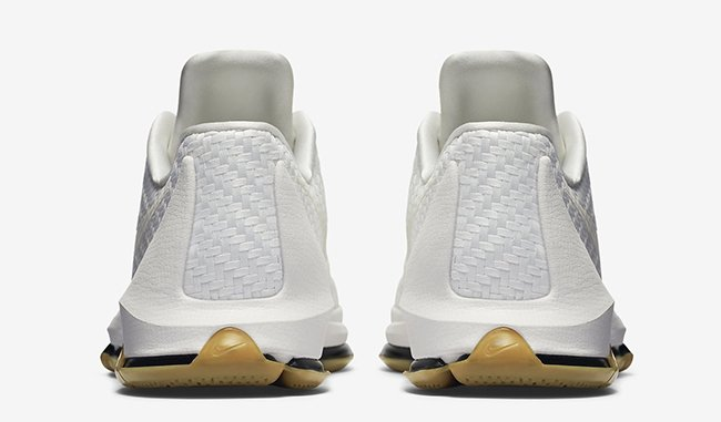White Woven Nike KD 8 EXT Gum