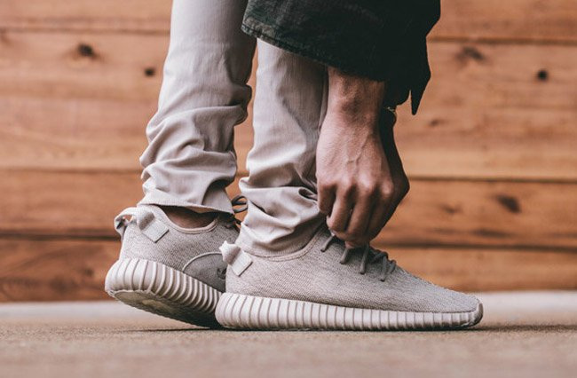 Yeezy 350 Boost Tan On Feet