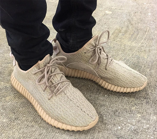 Yeezy 350 Tan On Feet